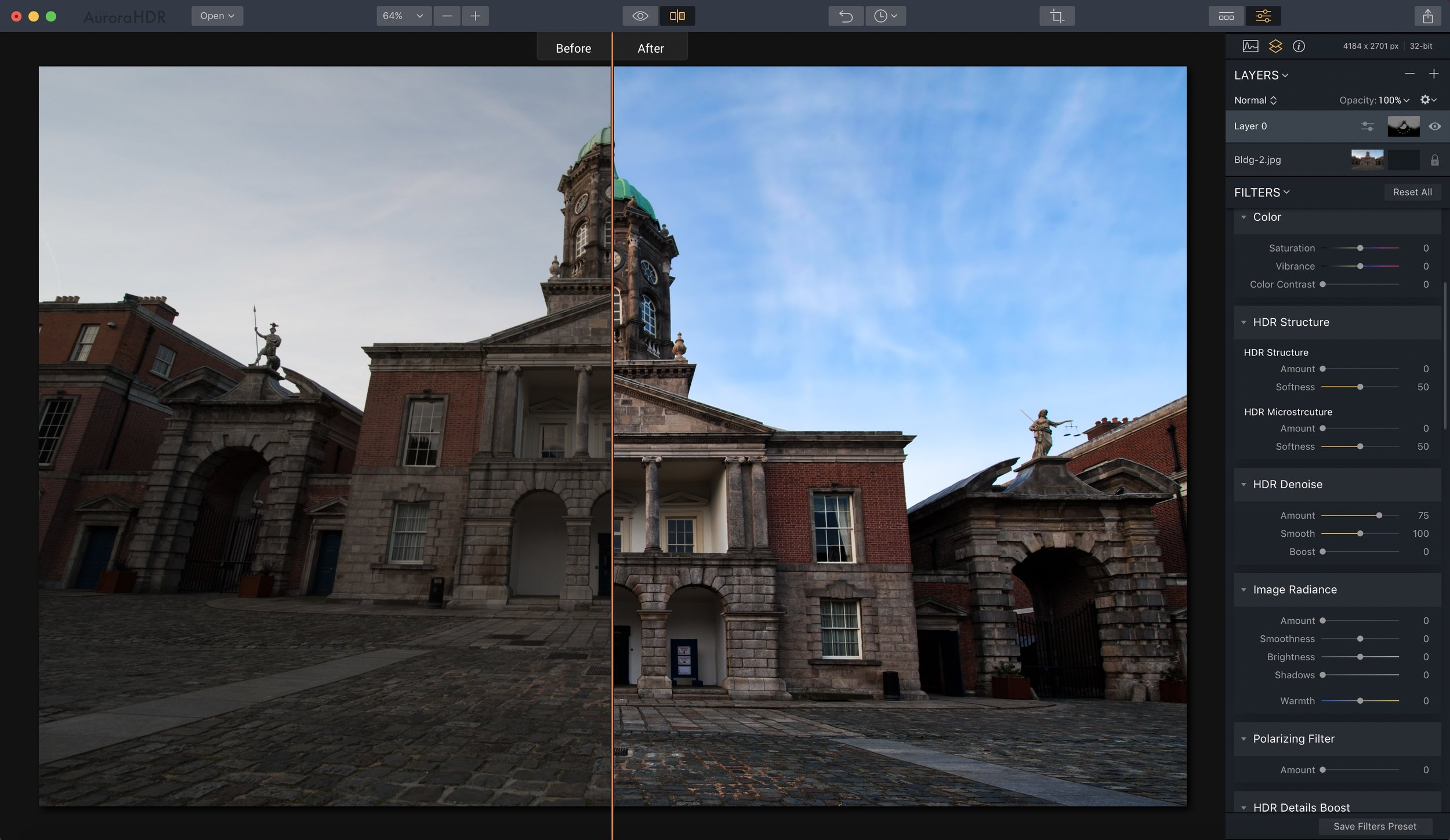 I know this split screen looks redonkulous, but I wanted to share it so you can see the dramatic difference you can make in a photo with the new Lens Correction and Transform tools (both of which were used here). I'll be back with more on those two tools really soon.