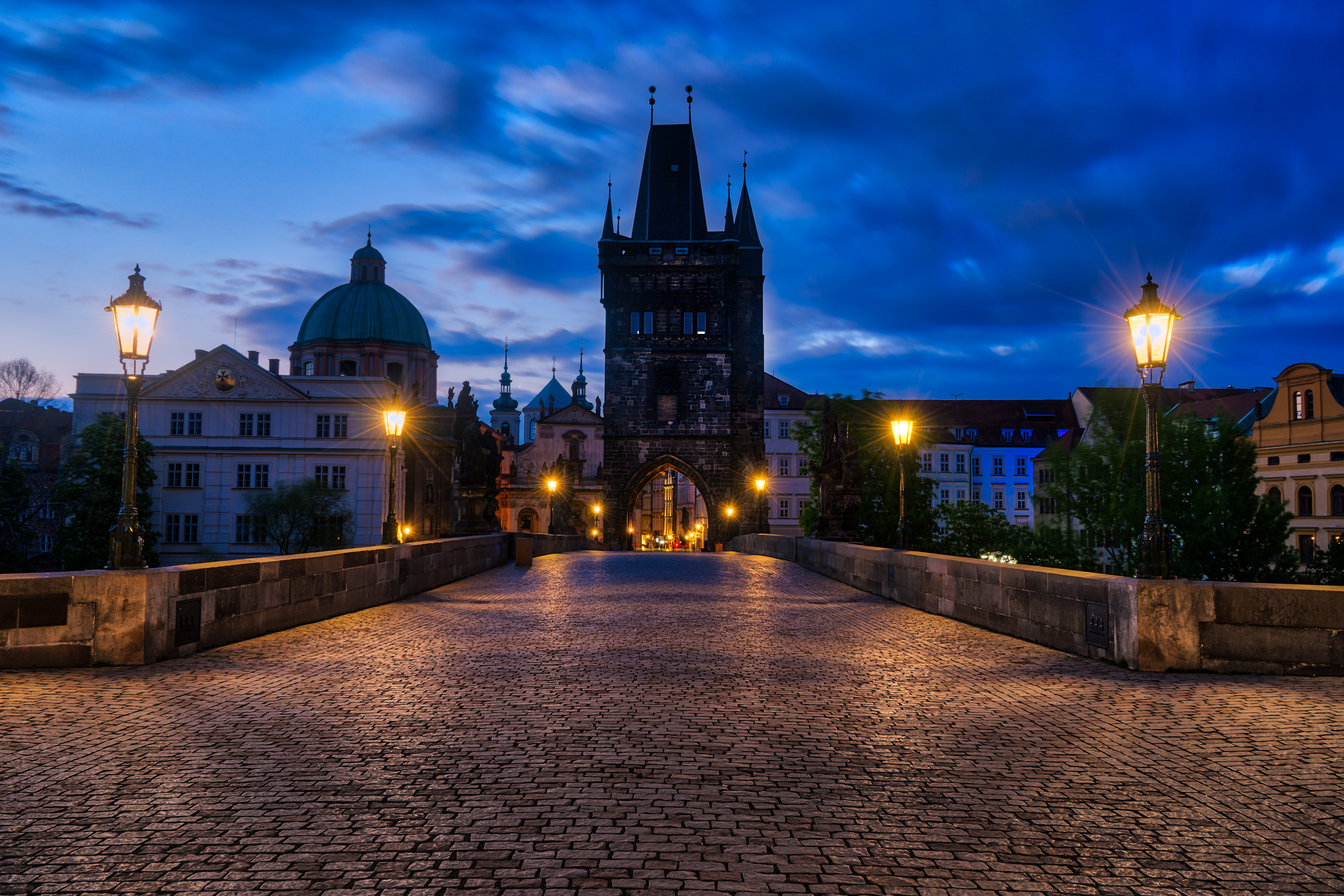 Early morning in Prague