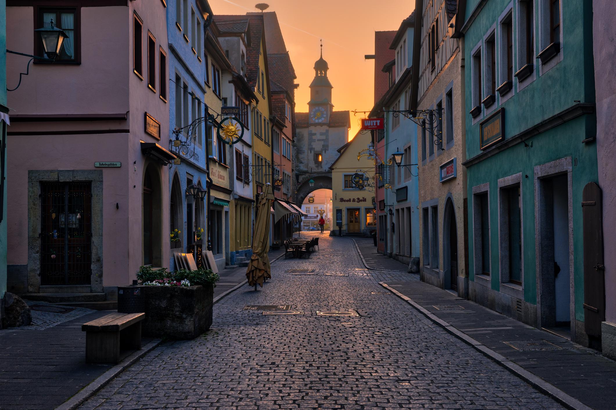 Germany-Rothenburg-street-scene-sunrise-HDR.jpg