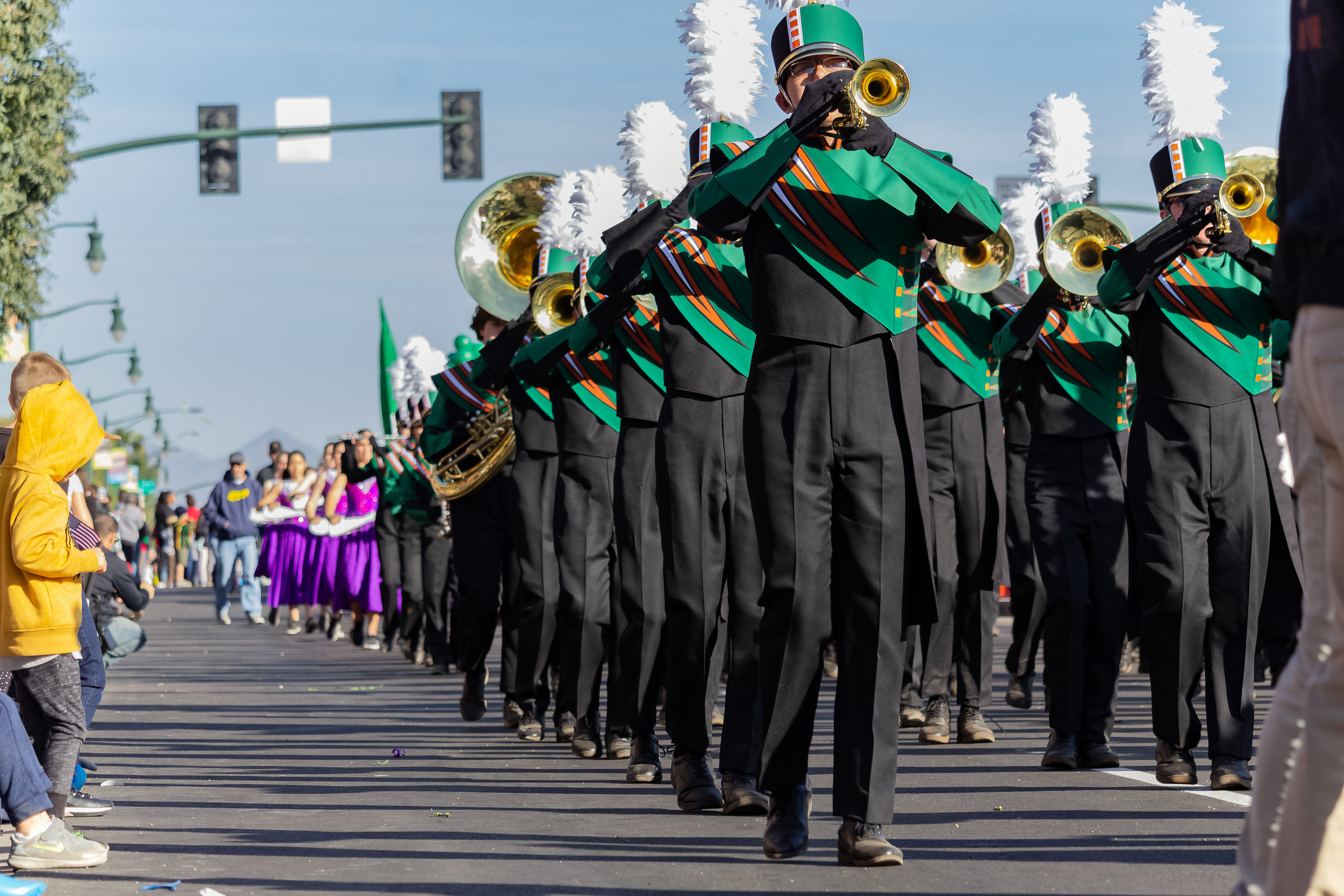 The Coyote Pride Marching Band Ends The Season Strong