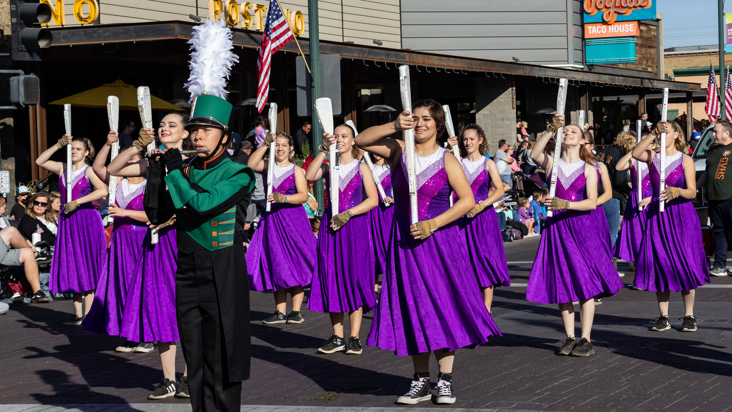CVHS Marching Band | Gilbert Parade 2018