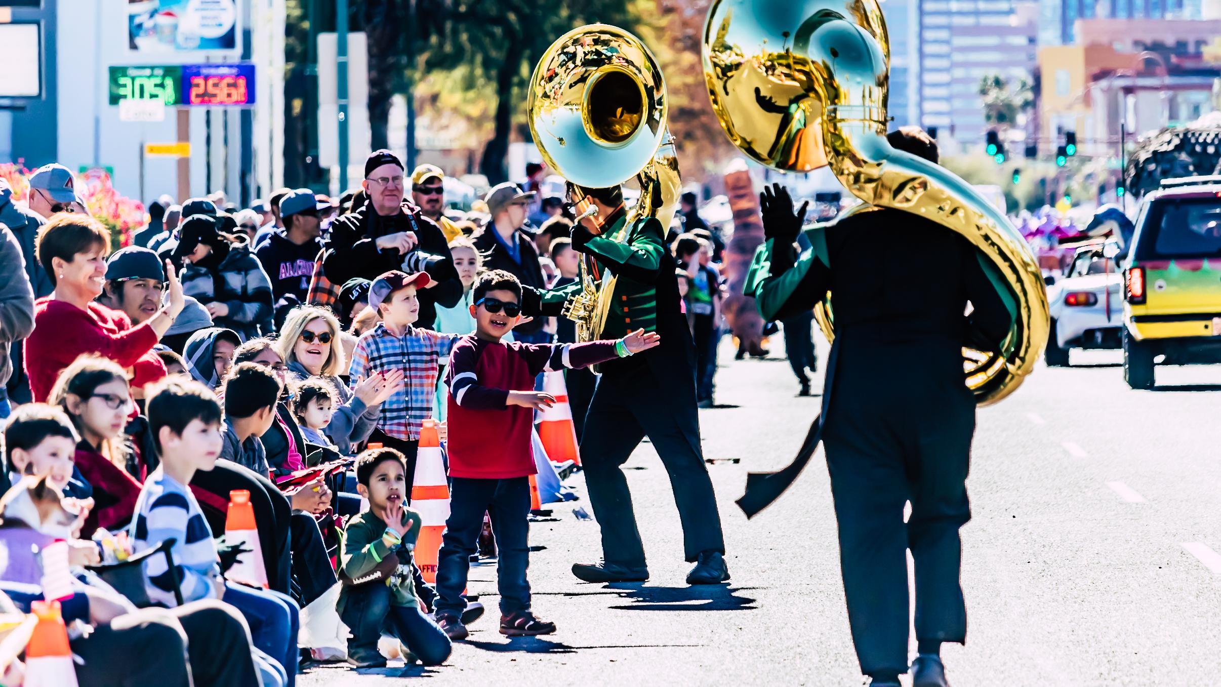 Fiesta Bowl Parade - Coyote Marching Band