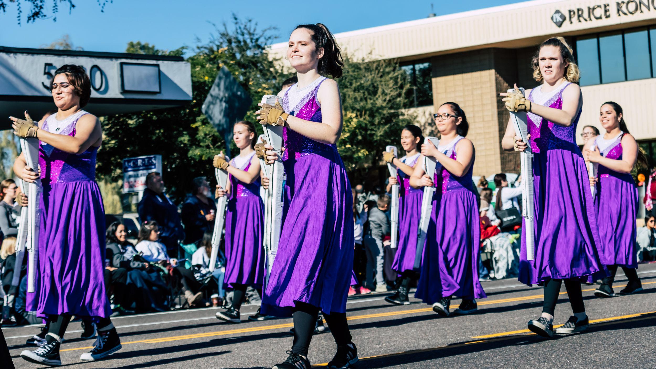Fiesta Bowl Parade - CVHS Marching Band