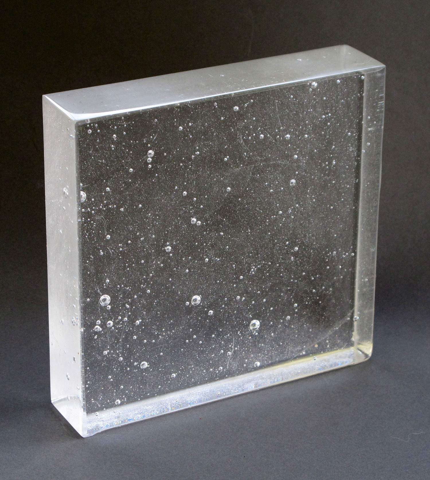 """""""C3"""" Clear Kiln Cast Glass"""