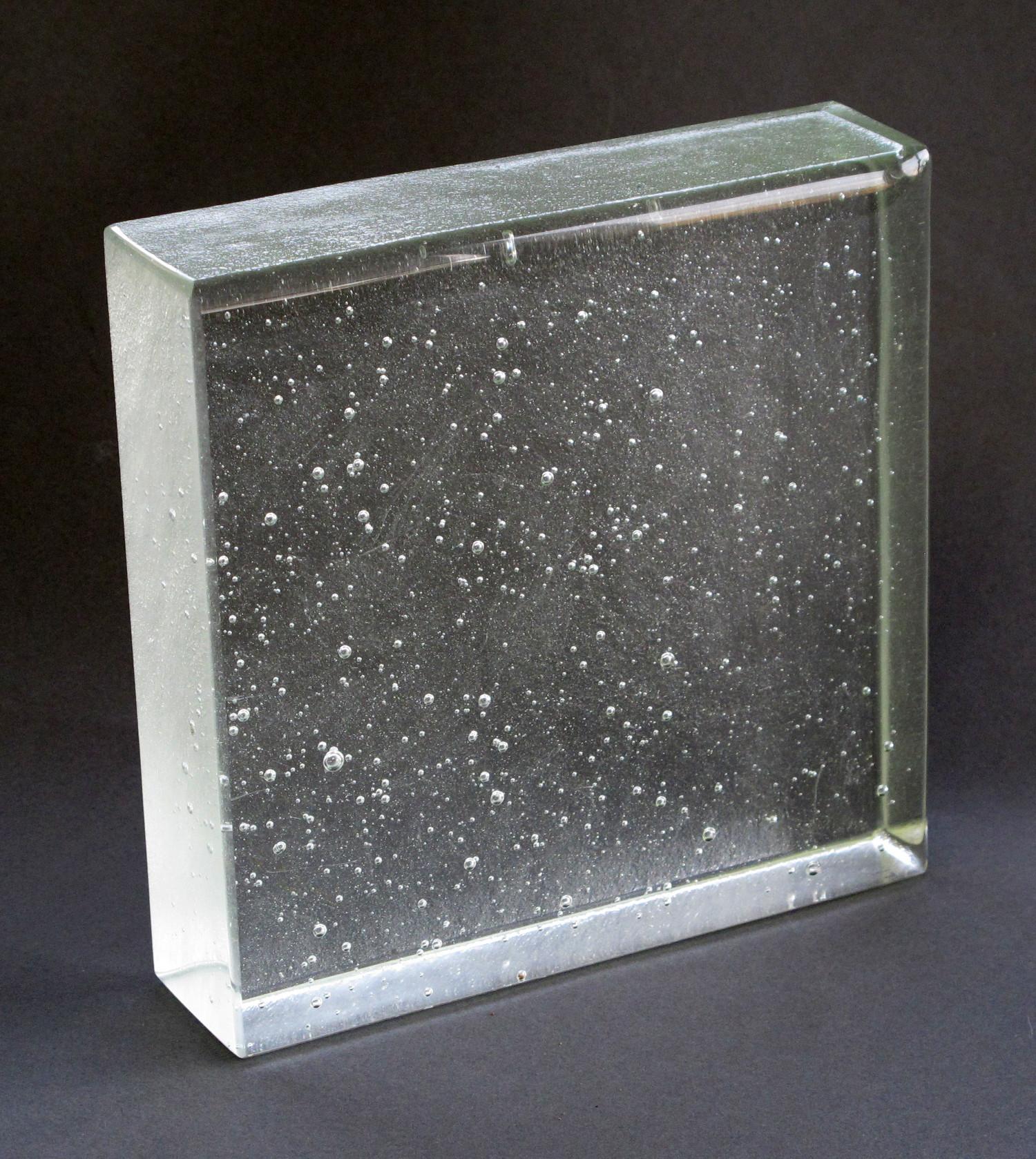 """""""TK11"""" Kiln Cast Glass"""