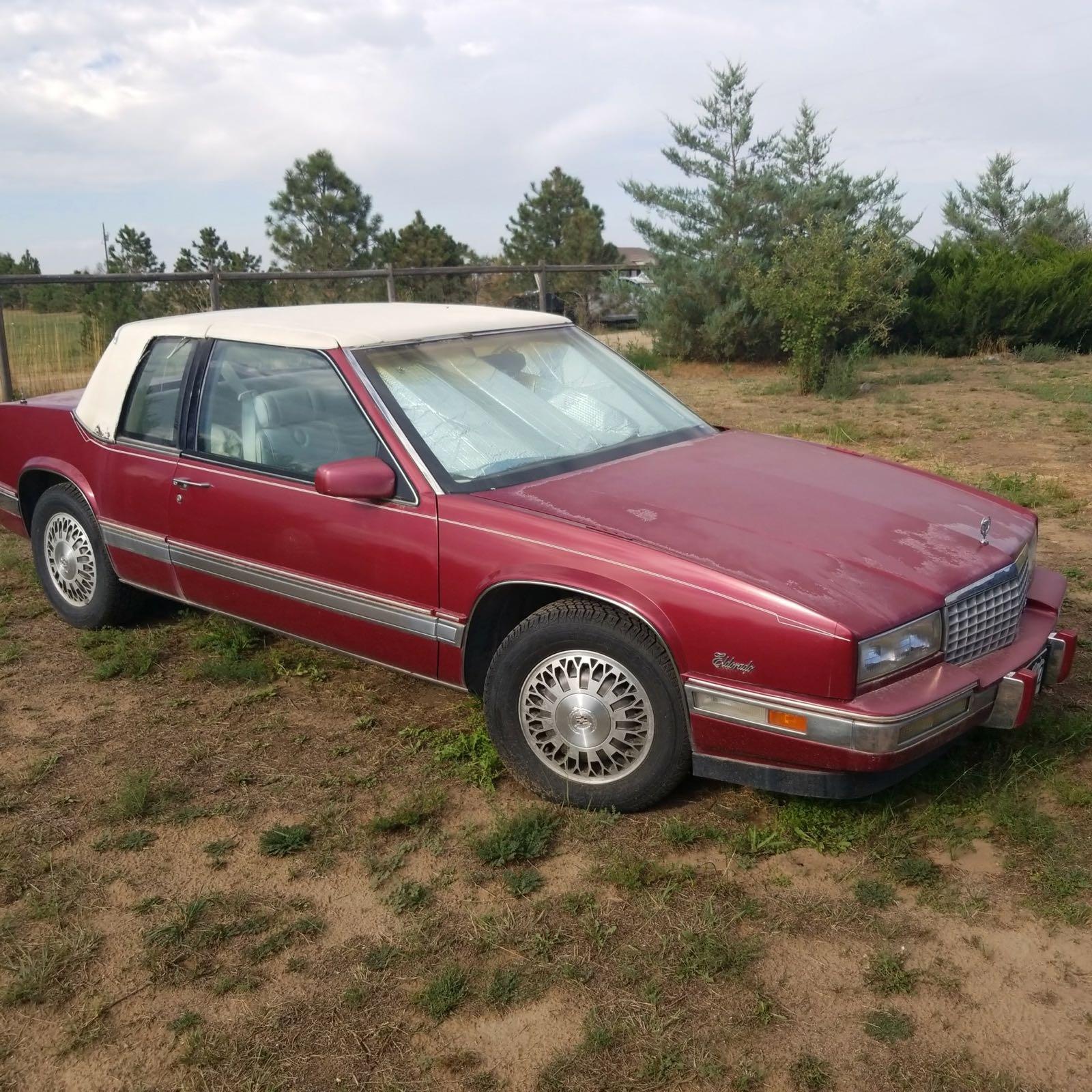 still taking bids - 1988 Cadillac Eldorado with 37,000 miles