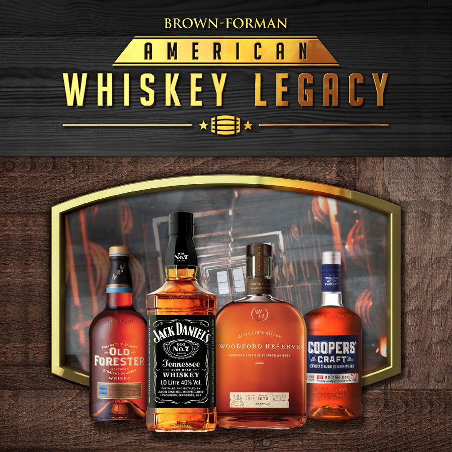 BROWN-FORMAN - AMERICAN WHISKEY LEGACY