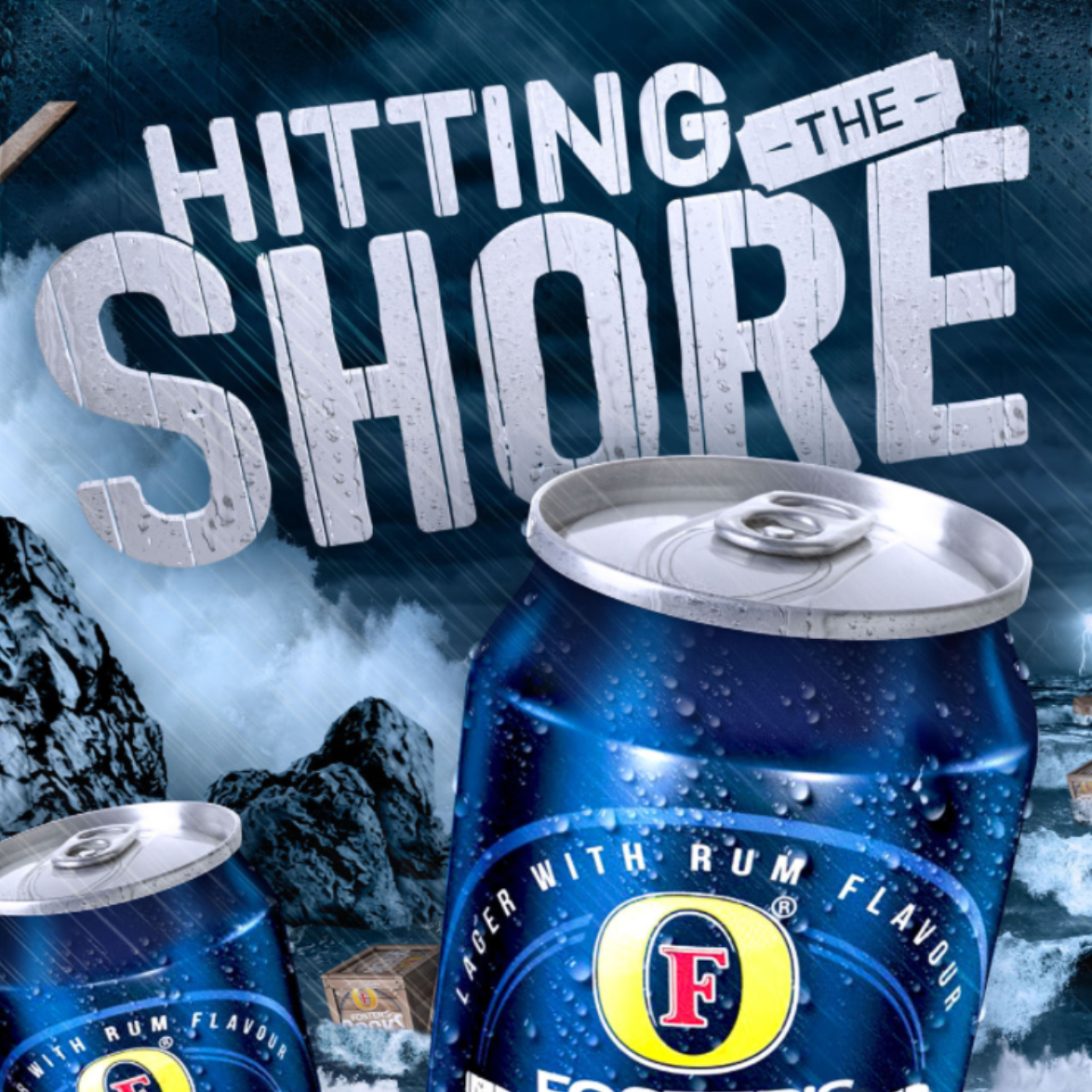 FOSTER'S ROCKS - HITTING THE SHORE