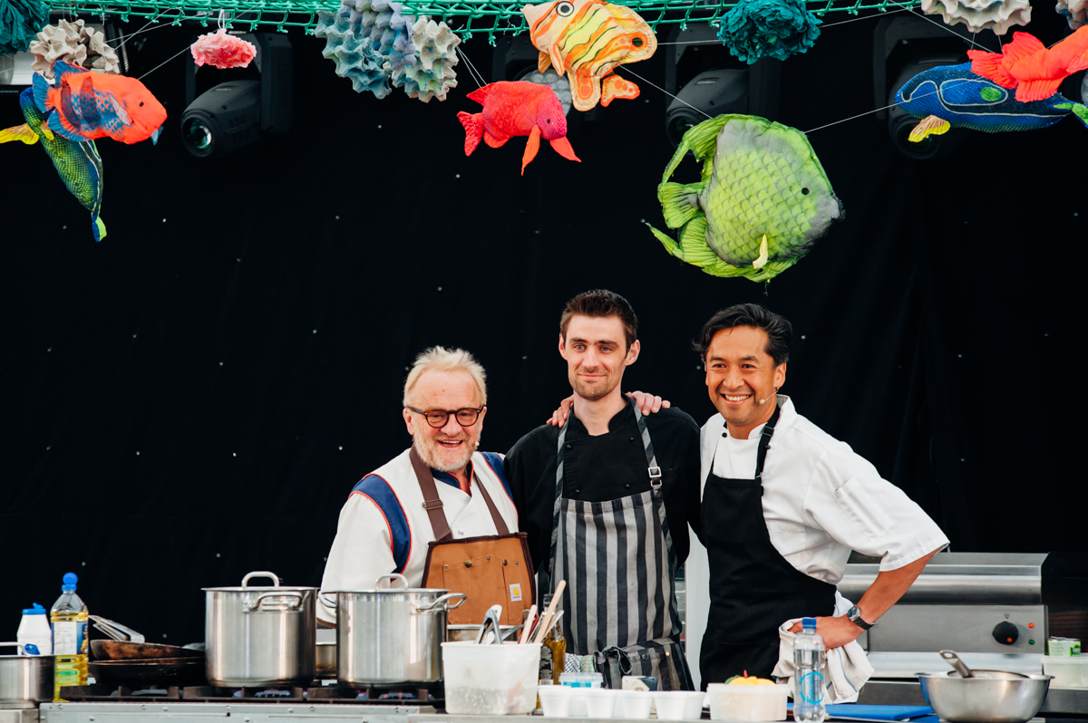 Porthleven Food Festival with Antony Worrall Thompson and Jude Kereama