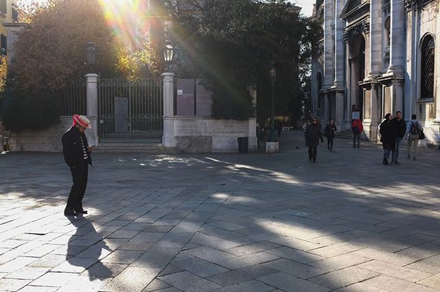Venice. #offguard #streetlife #reportagephotography #venice #piazzavenezia #tbt #winterlight #shadows