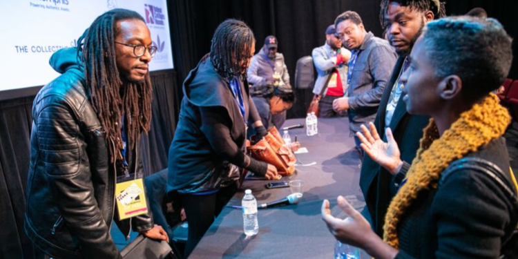 Photo from the 2018 Indie Memphis Black Creators Forum