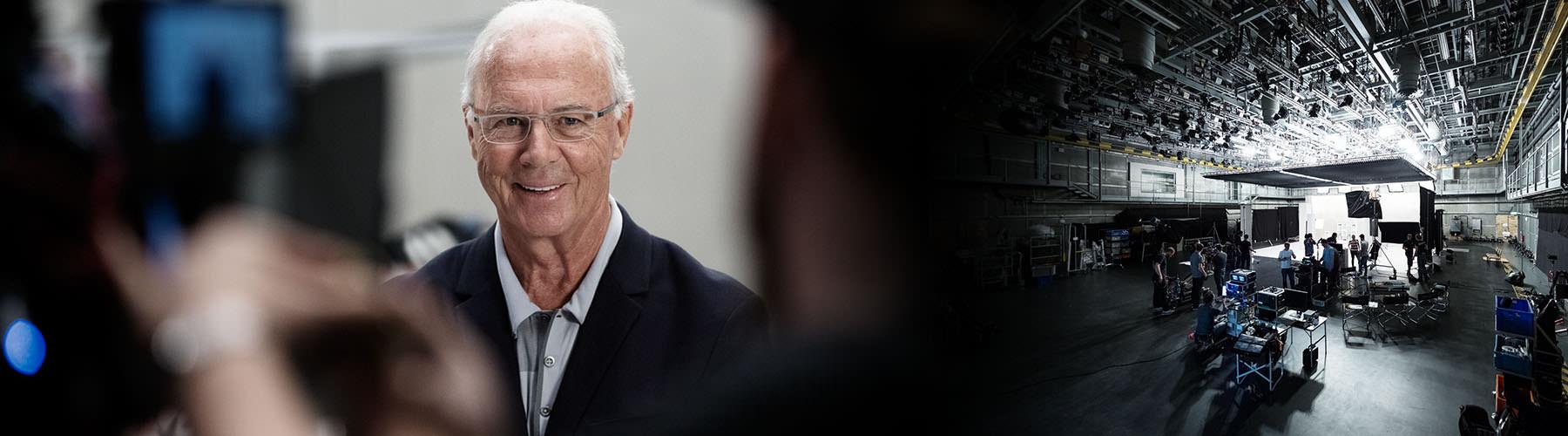 Videoproduktion für das Adidas Archive - Our Hero Stories mit Franz Beckenbauer und Jacques Chassaing