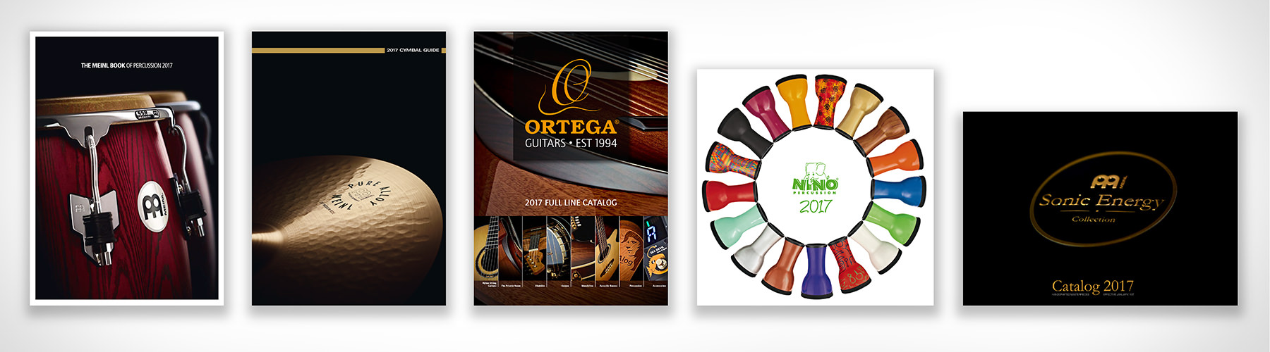 Produktfotografie Meinl Musikinstrumente - Katalogproduktion 2017