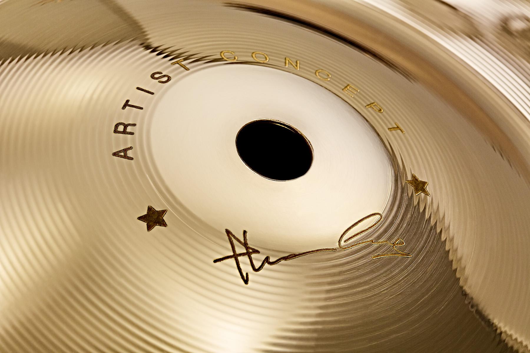 Cymbals Artist concept