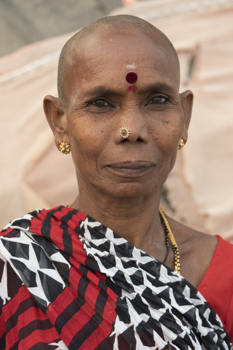 One of four ladies