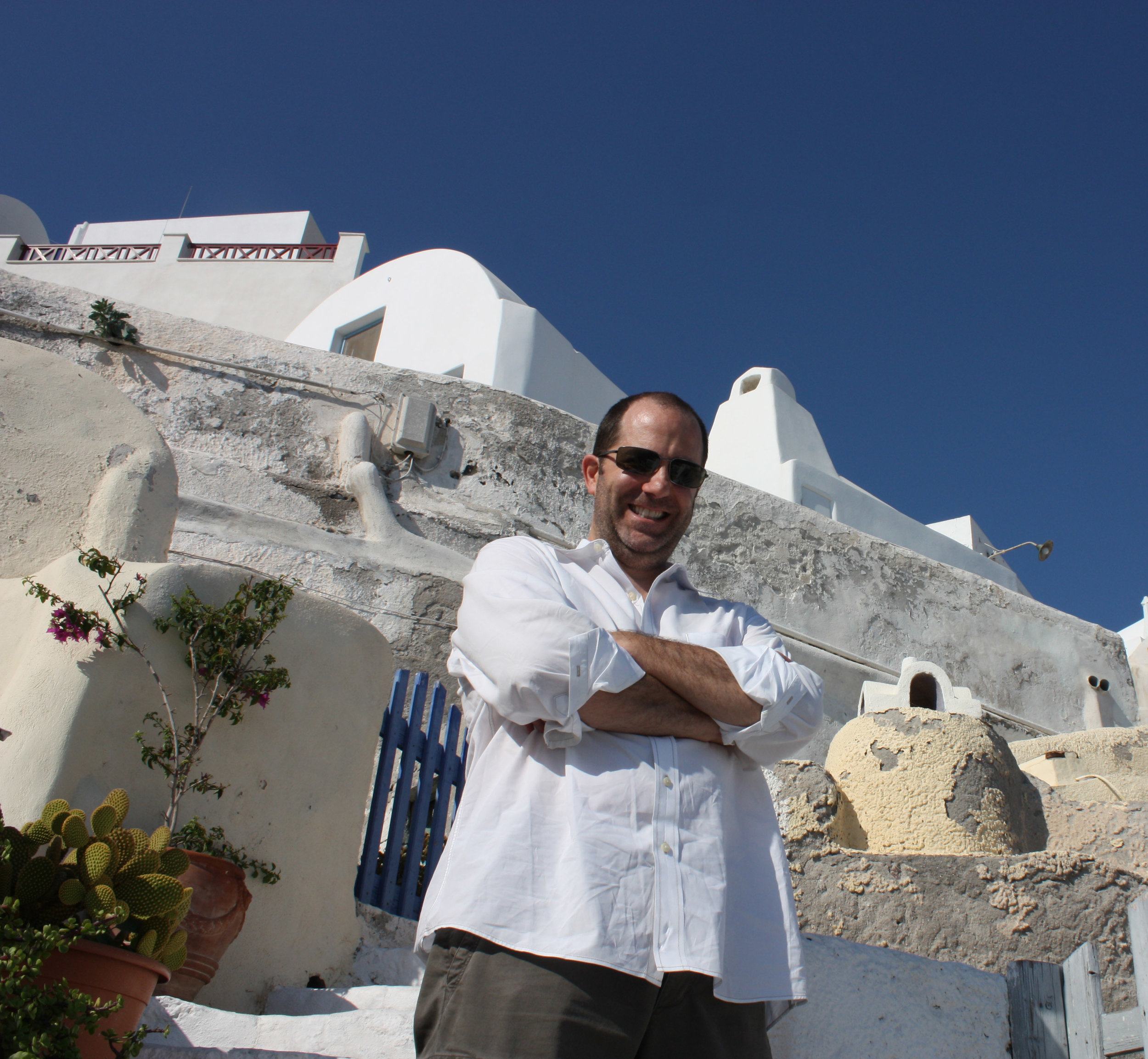 2010 in Oia, Greece (Santorini)