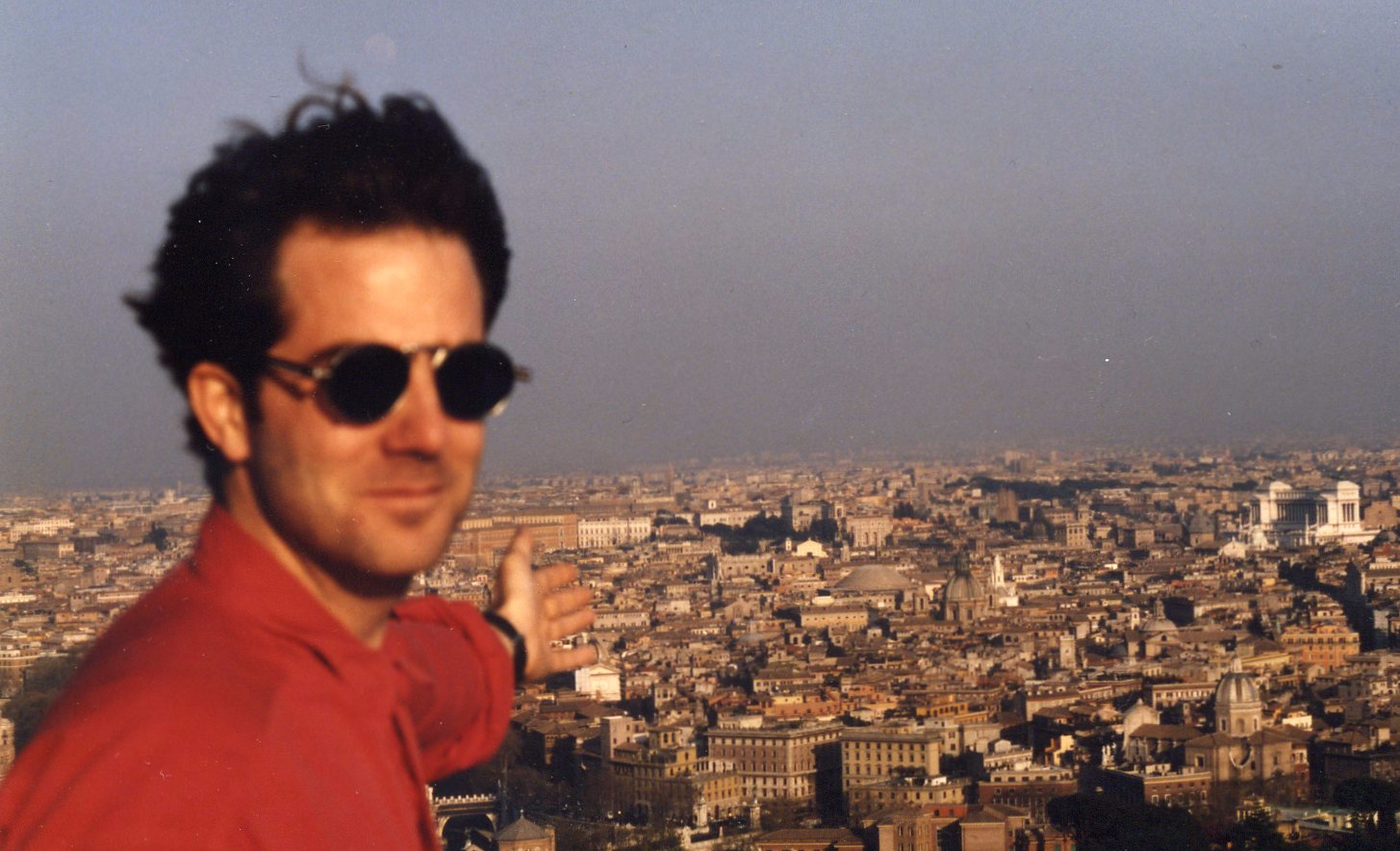 1994 Working in Rome