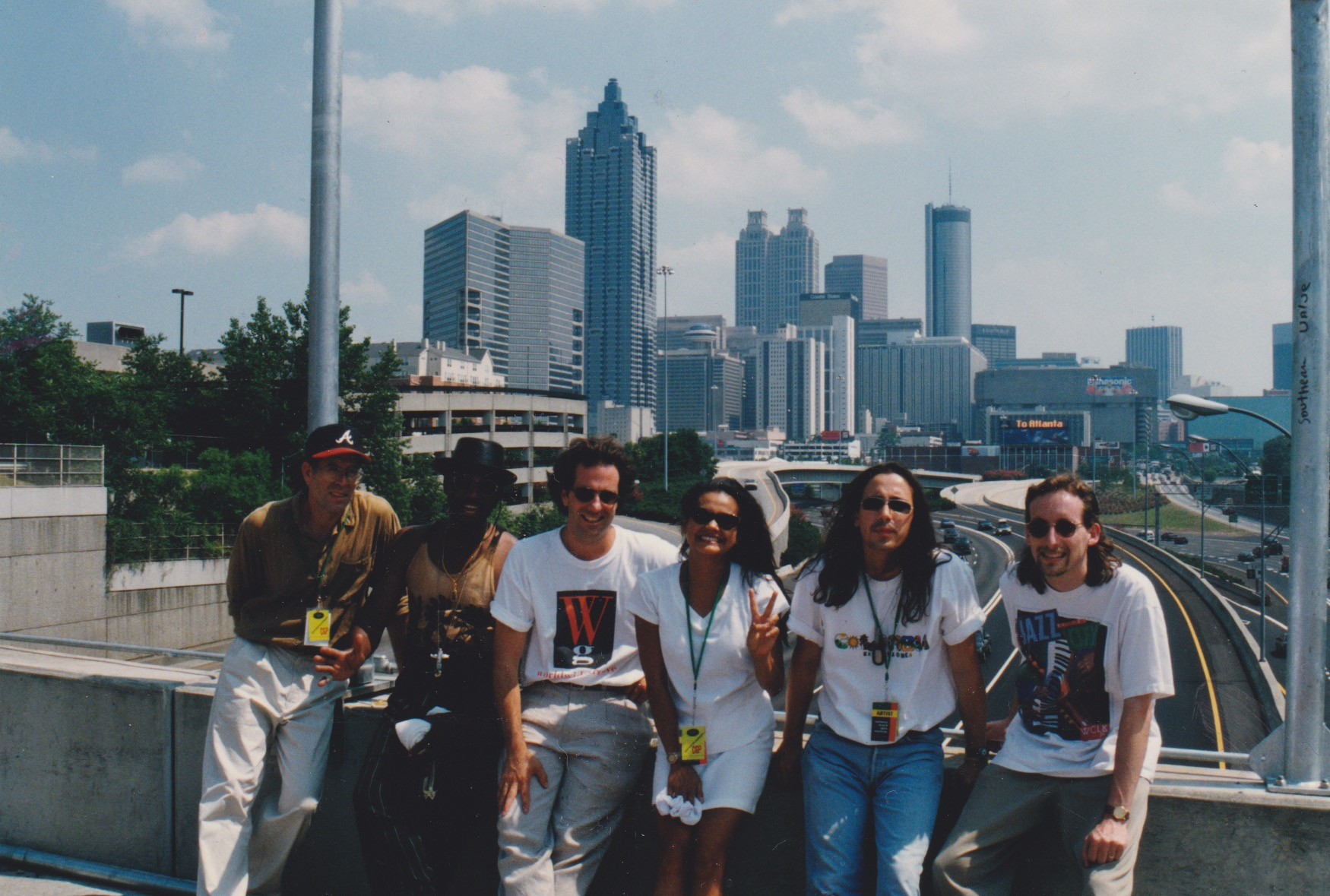Playing Atlanta Olympics with Worldwide Groove