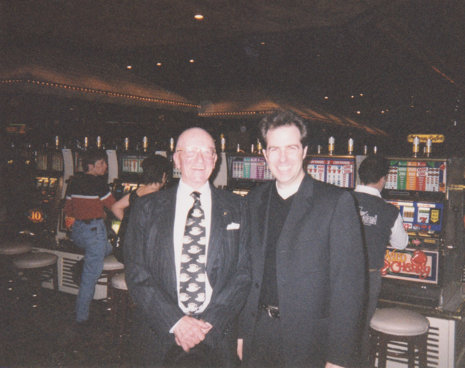 1999 With Dr. Illy in Las Vegas