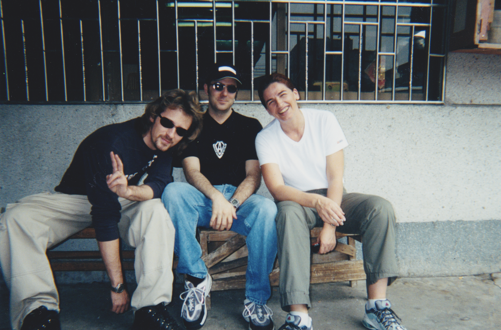 2001 Working in China