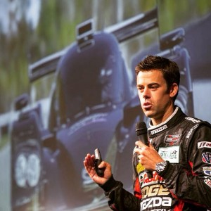 Joel has spoken to thousands of high school students, with the Mazda R.A.C.E.program