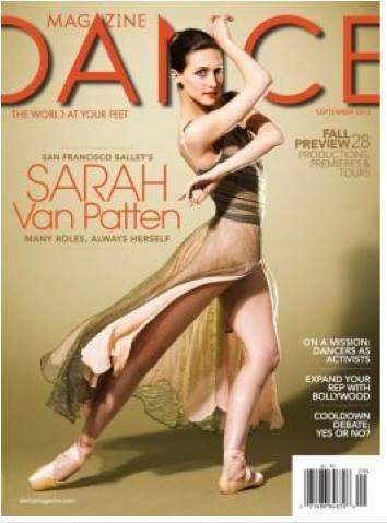 Cover of  Dance Magazine  2013
