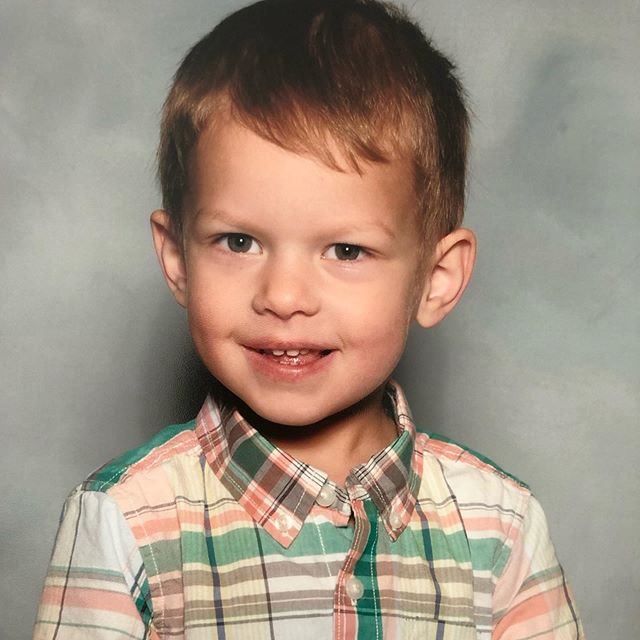 First school picture. Couldn't help myself 💙