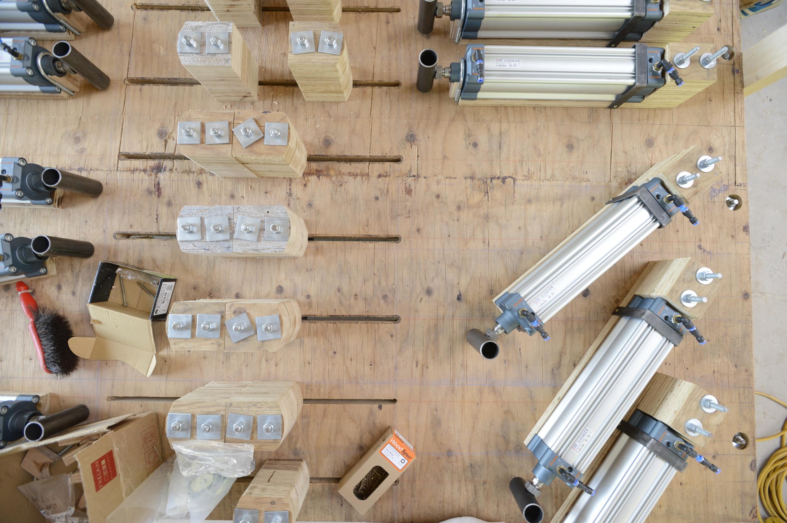Hooke_Park_Design_and_Make_Timber_Seasoning_Shelter_jig_VB_2013_07_17_0199.JPG