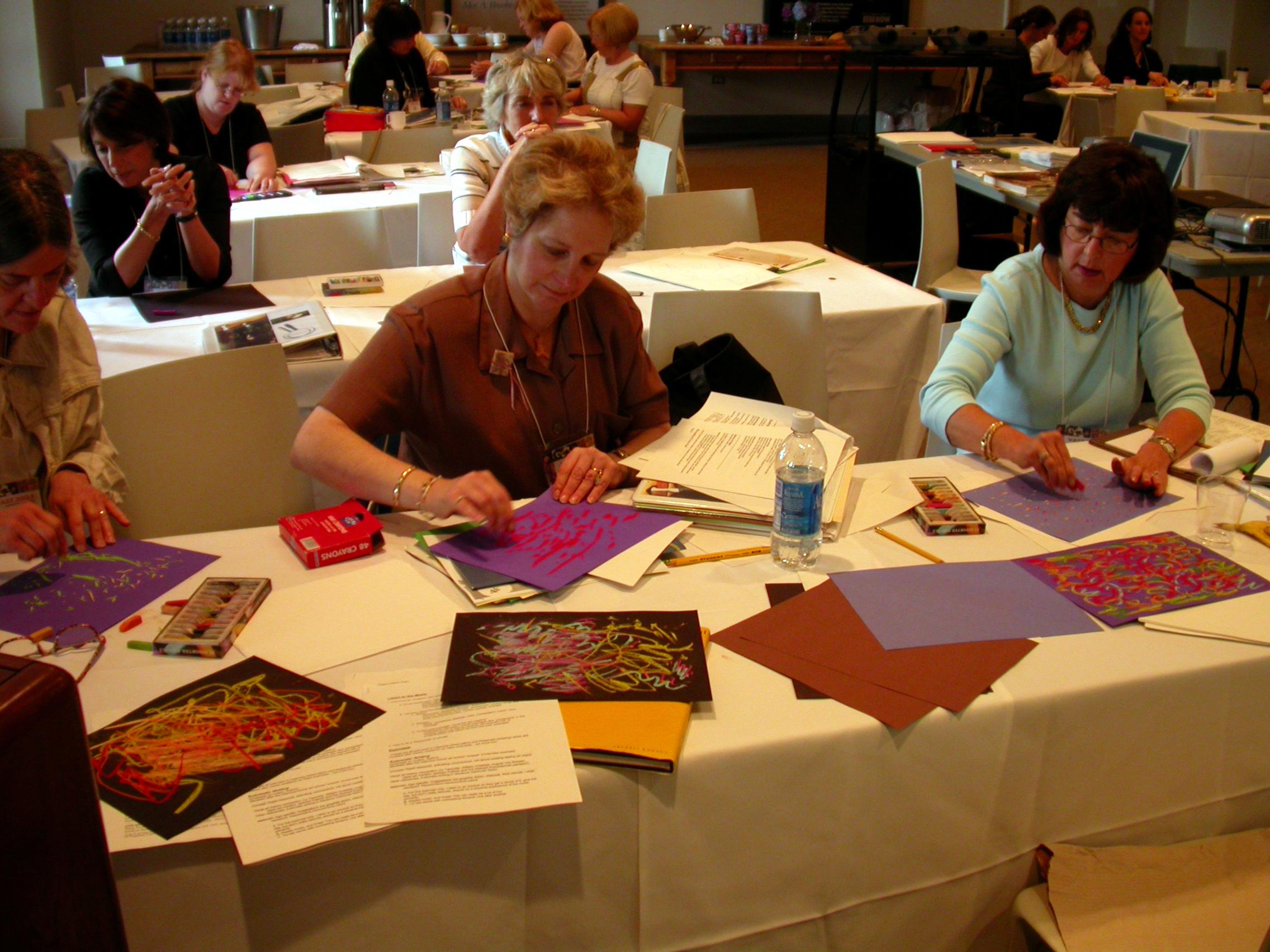 At the PMA Visual Arts Curicula Conference