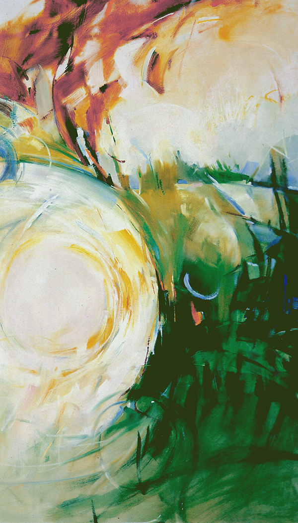 Stravinsky Rite of Spring, 4 ft x 7 ft