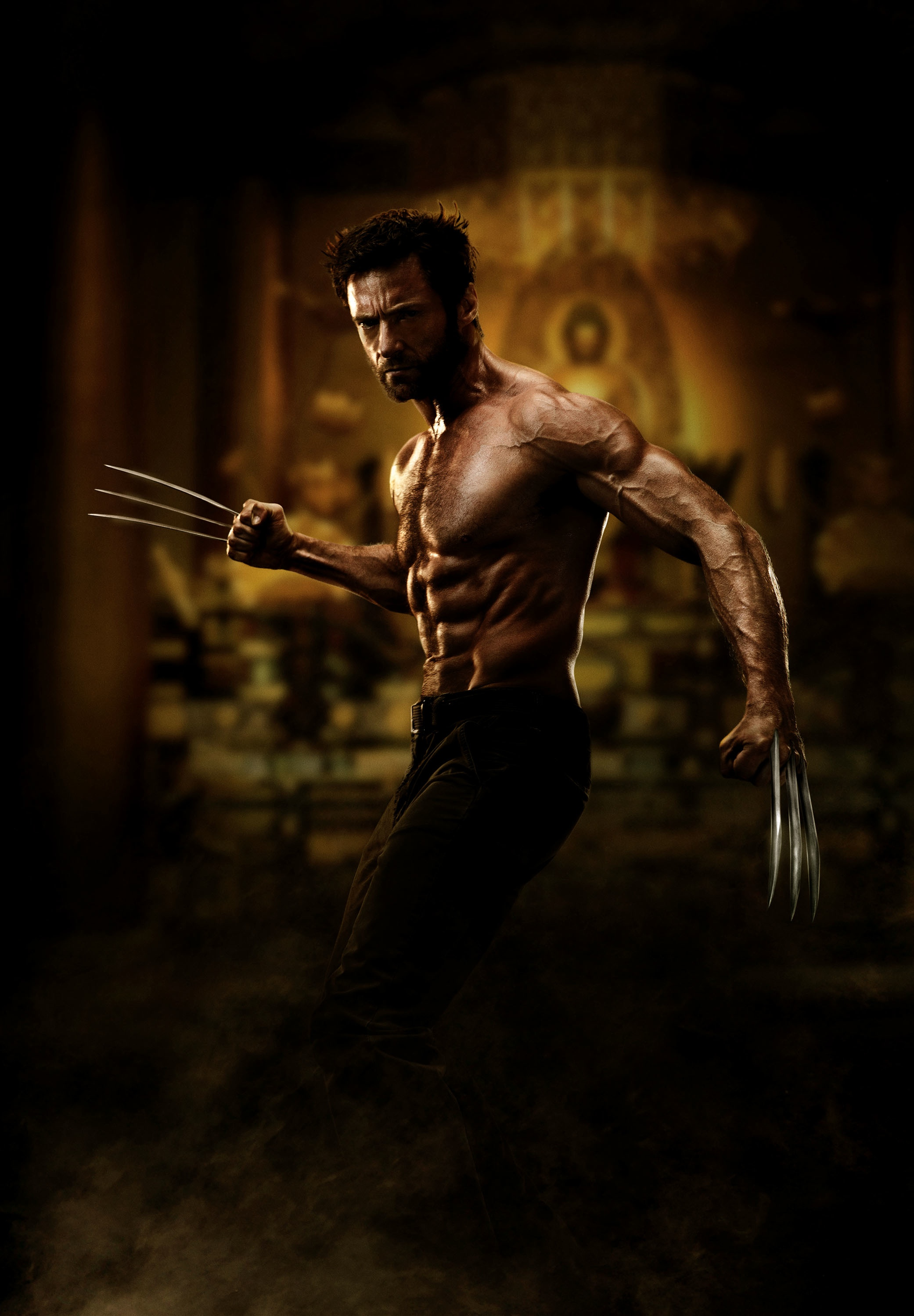 """Official first look image of Hugh Jackman in """"The Wolverine"""""""