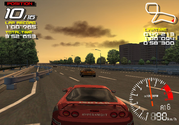 Ridge Racer V, one of the PS2 launch games