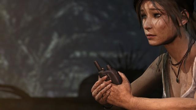 One of the more calmer moments of Lara's surivival