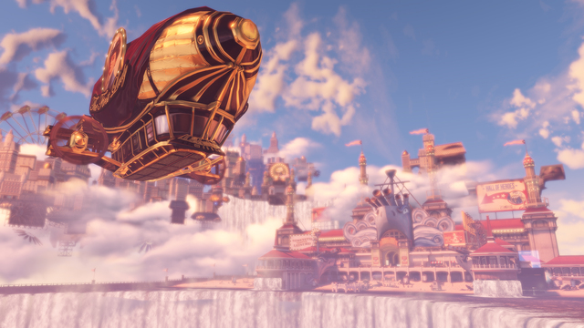 the Columbia of  BioShock Infinite  is really quite the site to behold