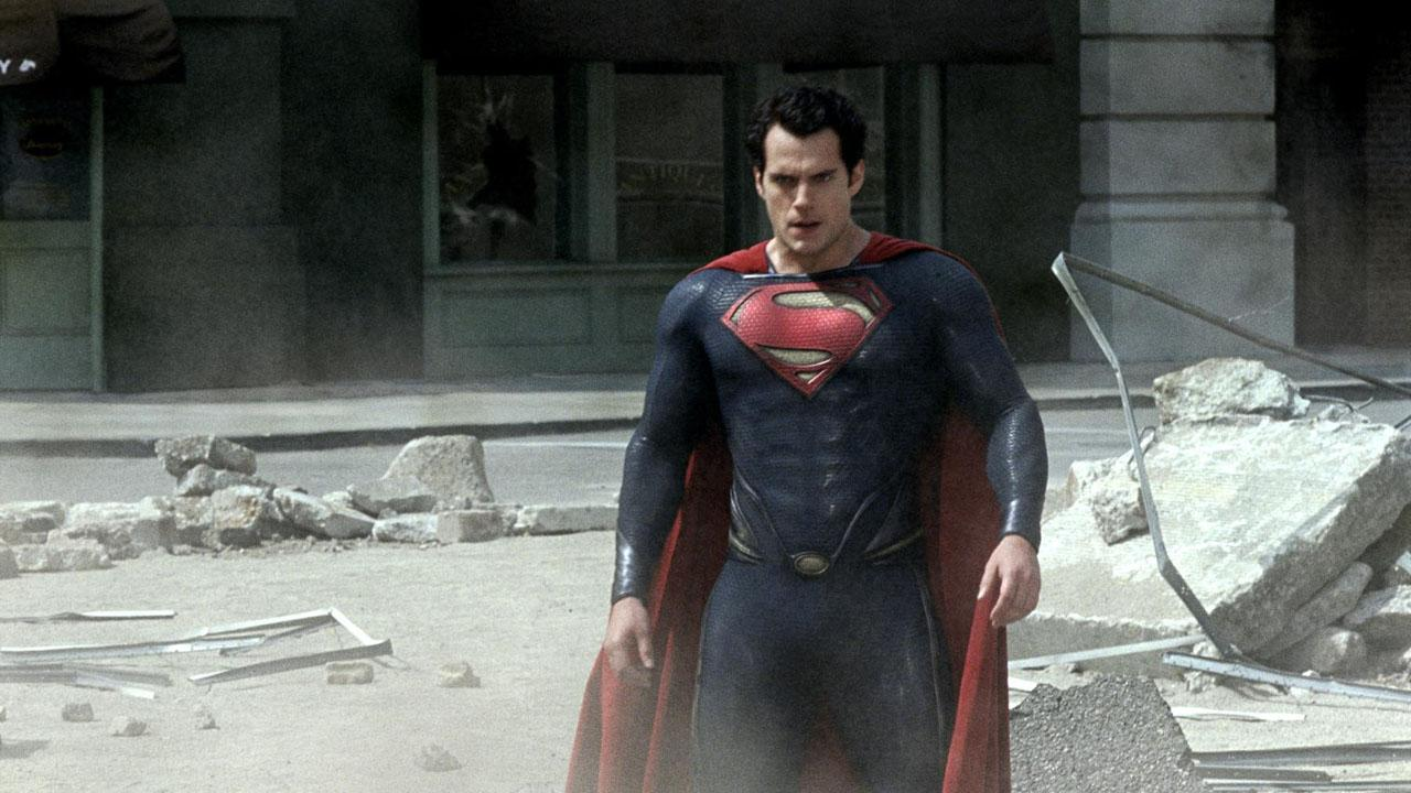 "all that destruction... not very ""Superman"" mind you..."