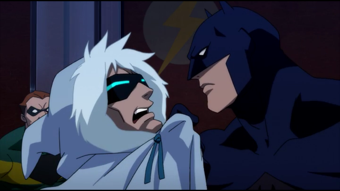 Kevin Conroy (briefly) reprises his iconic role as Batman