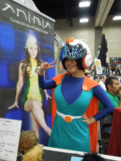 Ani-Mia as Videl, the Great Saiyawoman