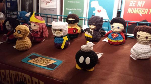 crochet creatures by monkey minion press!
