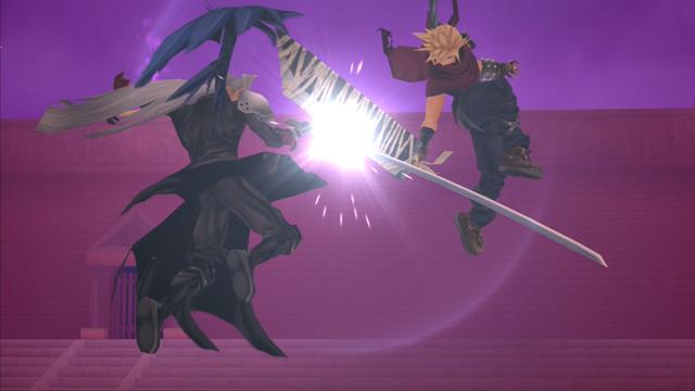 one of the many Final Fantasy cameos