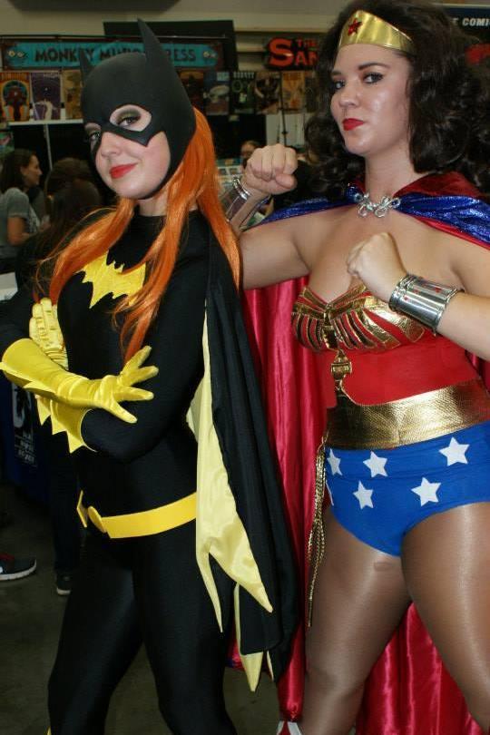 Batgirl and Wonder Woman