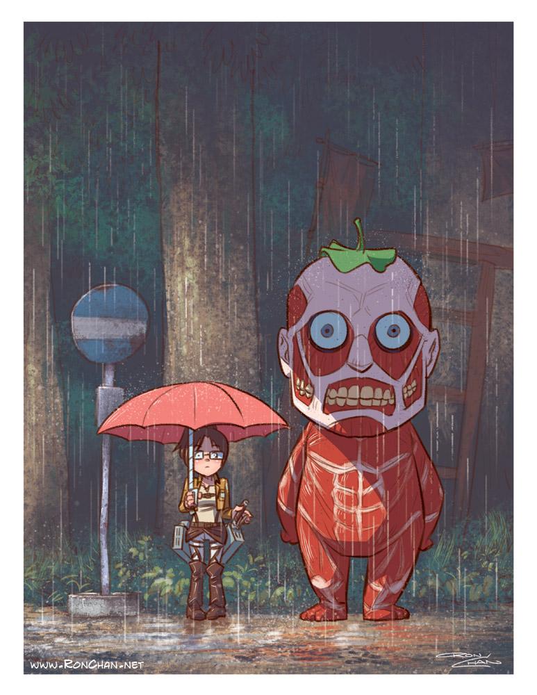 My Neighbor Titan, by Ron Chan