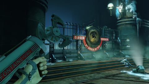 meet the Fontaine Air Grabber, Burial at Sea's Sky-Hook