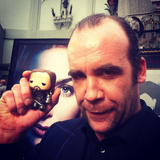 Rory McCann isn't as scary as his Clegane figurine