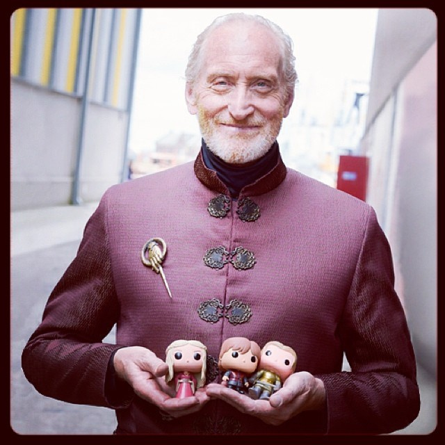 Charles Dance as Tywin Lannister has his children in his hands!