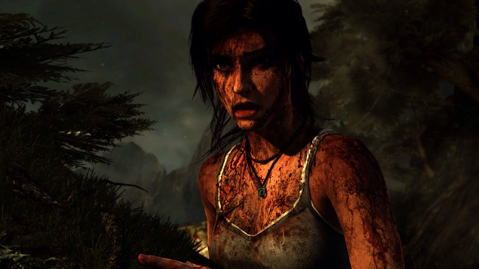 it looks fantastic! Lara was practically rebuilt from the ground up for next-gen... not a simple port!