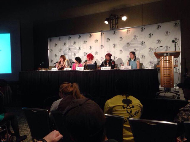 T'was a pleasure hosting a panel with these folks!