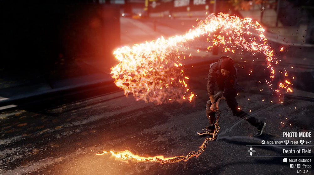 the brand new photo mode gives the shutterbug inFAMOUS fan some serious power