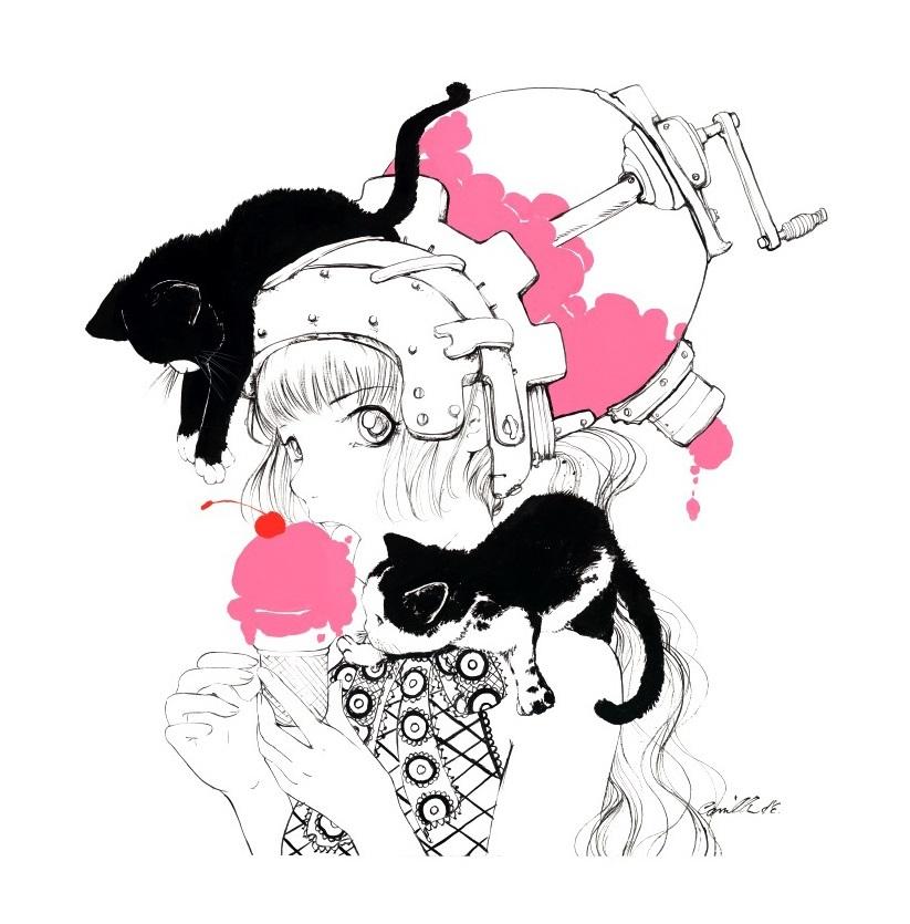 "Artwork by Camilla d'Errico ""Cherries Jubilee"""