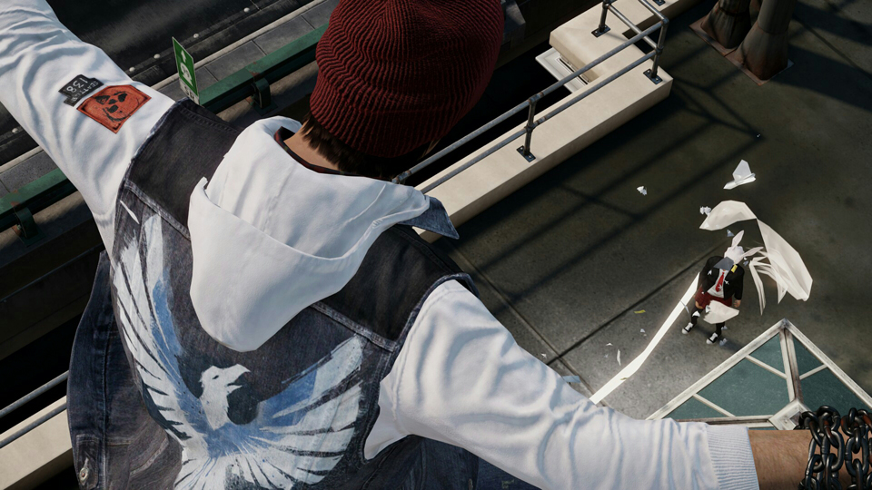 chase the White Rabbit Delsin... and see how deep the rabbit hole goes