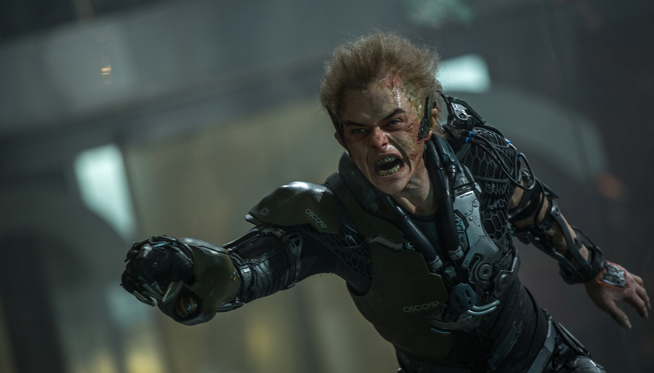 Green Goblin finally makes his debut in this film